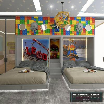 Bestari Height Bedroom Design For Kids . Impian Height Design For Boys Bedroom