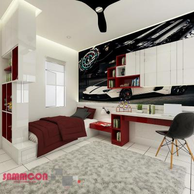 Botanic . Eco World Bedroom Design Renovation 1