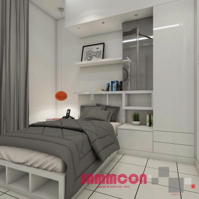 Estuari . Putri Harbour . Bedroom Design Renovation