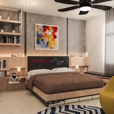 Jalan Anjung Horizon Hill Bedroom Design . Interior Design Johor Bedroom