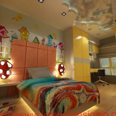 Kids Room Design Renovation . Johor Bahru