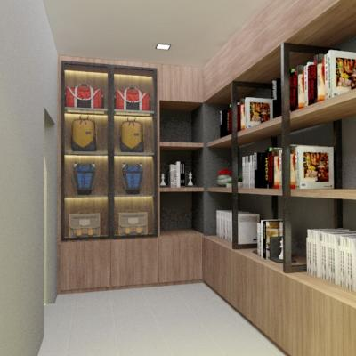 Study Room Design Renovation . The Seed . Sutera Utama